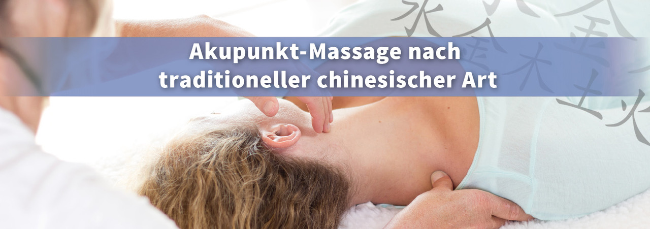 Akupunkt-Massage